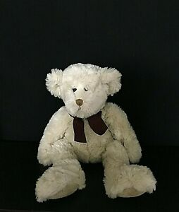 """Russ Berrie Plush Stuffed Bear JACKSON Made Exclusively For Bombay 17"""" Soft LNC"""