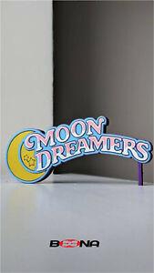 Decorative Self standing MOON DREAMERS logo display