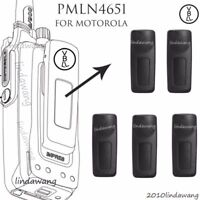 5x Belt Clip for Motorola XPR6550 XPR6580 XPR6350 XPR6380 Portable Radio 3''