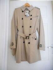 Burberry Patternless Button Cotton Coats & Jackets for Women