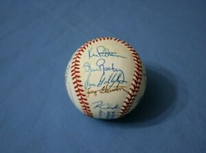 1989 Chicago White Sox team autographed baseball 21 bold signatures nm-mt