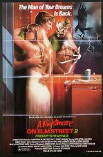 NIGHTMARE ON ELM STREET PART 2 FREDDY KRUEGER HORROR 1984 1-SHEET NM