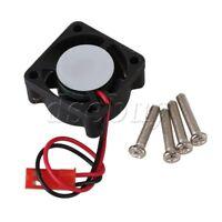 25 x 25mm N10046 Black Brushless Motor Cooling Cooler Fan for RC1:10 Heat Sink