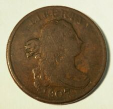 1807 Half Cent - 1/2 C- Late State - #232