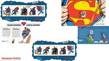 2013 CanadIan SUPERMAN Stamp Collection - Collector's Lot Of 3  SALE 10% OFF!