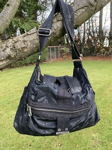 Ladies Large Black Cross Body Bag From Juicy Couture