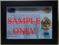 2nd Infantry Battalion City of Newcastle Regiment (2 RNSWR) Australian Army