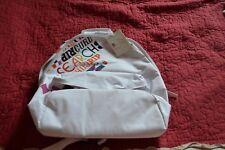sac neuf ripcurl blanc 45 cm lettres de couleurs  mondial possible