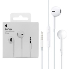 Apple EarPods with 3.5mm Headphone Plug Genuine Original OEM for iPhone 6 6s 5