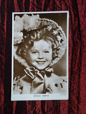 SHIRLEY TEMPLE  -  FILM STAR - POSTCARD - POSTED - VG