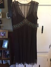 NWT J C Penney Mix It Bead Embellished Formal Dress-16