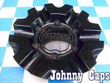 Boss Motorsports Wheels Black Center Caps #3215  Boss Black Center Cap (1)
