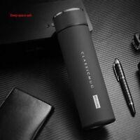 500ml Thermos Tea Vacuum Flask Filter Stainless Steel Coffee Mug Water Bottle