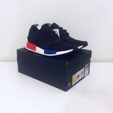 Adidas NMD Runner R1 Primeknit PK UK 9 Original OG Colour AKA Black Lush Red