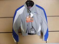 Neuf  Blouson cuir moto mike the bike taille L Lady (femme) coloris gris / bleu.