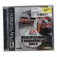 NASCAR Thunder 2004 (Sony PlayStation 1, 2003) Brand New Factory Sealed