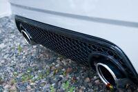 NEW GENUINE AUDI TT 98-06 REAR BUMPER HONEYCOMB DIFFUSER GLOSS BLACK 8N0807421F