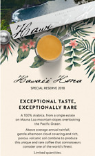 Nespresso Hawaii Kona Special Reserve 1 Sealed Sleeve Brand New Limited Edition