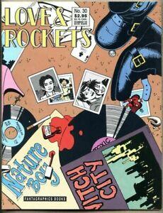Love And Rockets #30-1989 nm- Fantagraphics Jaime Hernandez Gilbert Hernandez