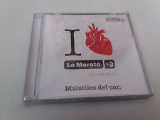 """CD """"EL DISC DE LA MARATO TV3 2014"""" CD 19 TRACKS LAURA PAUSINI ELS PETS ANTONIO O"""