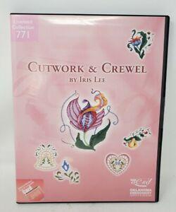 OESD Inc. Cutwork & Crewel Embroidery Card No. 771 by Iris Lee