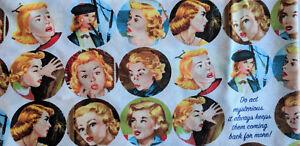 GET A CLUE NANCY DREW Moda Fabric / Faces