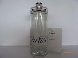 Eau de Cartier, 200 ml Eau de Toilette Spray mit 1,5 ml Miniatur