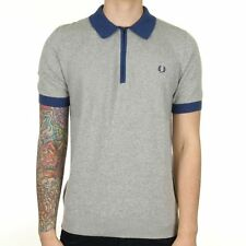Fred Perry Zip Neck Casual Shirts & Tops for Men