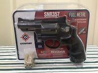 Ruger Superhawk Metal CO2 Dual Ammo Revolver Kit 0.177 cal  Speed Loader 6 Pel