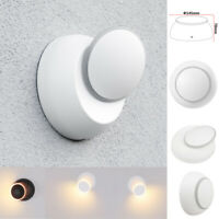 LED Reflector de Pared Aplique Lámpara Giratoria IP44 5W Exterior Baño Blanco