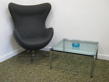 Vintage USM Haller Coffee Table, Chrome & glass, Merrow style, Northants