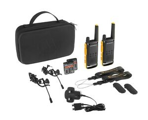 Motorola Talkabout T82 Extreme Twin Pack Includes Accessories