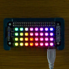 Unicorn pHAT - 32 (8x4) RGB LEDs powered directly from your Raspberry Pi