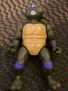 "Vtg 1989 TMNT Ninja Turtles GIANT Donatello 14"" Figure Mirage Studios"