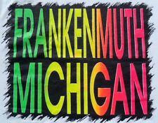 Vintage 1980s Frankenmuth Michigan White T-Shirt M Screen Stars