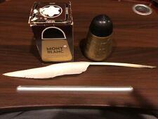 VintageMontblanc 16100 Brown Ink Fountain Pen Bottle Inkwell 100 ml Vintage NIB