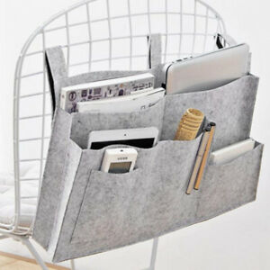 Felt Bed Hanging Storage Bag Bedside Pocket Organizer Fit Sofa School Dormitory