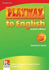 Playway to English Level 3 Teacher's Book, Cherry, Megan, Puchta, Herbert, Gerng