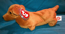 TY WEENIE the DOG  BEANIE BABY 3RD GEN HANG TAG -  MINT with MINT TAG