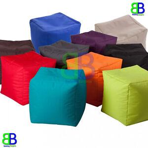 Beanbag Pouffe Footstool indoor outdoor Garden Room Seat Waterproof Bean Bags