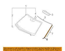HYUNDAI OEM 09-12 Elantra Windshield-Reveal Molding Left 861312L000