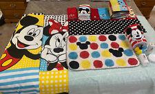 Mickey And Minnie Bathroom Set