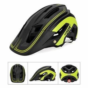 Mountain Bike Helmet Ultralight Adjustable Cycling Riding Safety Helmet