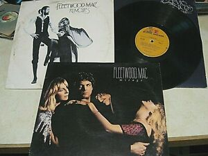 Fleetwood Mac LPs  Lot of 3  RUMORS, SELF TITLED & MIRAGE