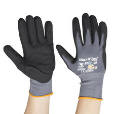 3 x MAXIFLEX ULTIMATE PALM COATED HANDLING GLOVES 42-874 size 8(M)