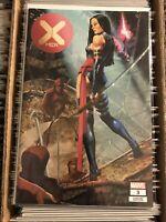 X-MEN #3 JAY ANACLETO PSYLOCKE TRADE DRESS VARIANT COVER uncanny rare HTF