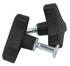 More details for triangle handle knob nut screw bolt fits many honda, hayter, mountfield