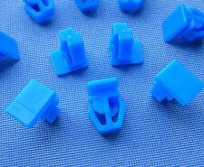 (2262 379) 10x Zierleistenklammern Clip Zierleisten blau für Accord, Civic, CRX