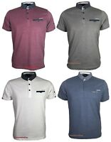 Mens Duck and Cover Polo T Shirt Short Sleeve Collard Pique Polo Original Gift