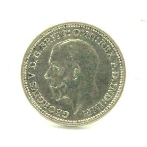Silver George V 1932 three pence